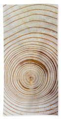 Rings Of A Tree Beach Towel