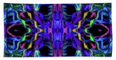 Rings Of Fire Dopamine #156 Beach Towel