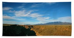 Rio Grande Gorge Nm Beach Towel