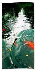Ripple To The Past  Beach Towel