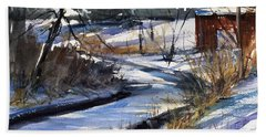 Rippleton Road River Beach Sheet by Judith Levins