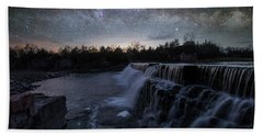 Beach Towel featuring the photograph Rise And Fall by Aaron J Groen