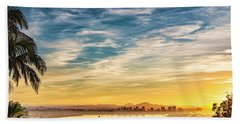 Beach Towel featuring the photograph Rise And Shine by Dan McGeorge