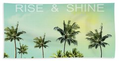Rise And  Shine Beach Towel by Mark Ashkenazi