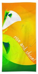 Beach Towel featuring the digital art Rise And Shine by Methune Hively