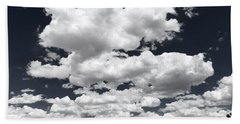 Rise Of The Clouds Beach Towel