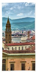 Rising Above The City Beach Towel