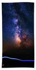 Beach Towel featuring the photograph Rising From The Clouds by Bryan Carter