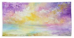 Rising Joy Beach Sheet by Meaghan Troup