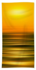Rising Sun Beach Sheet by Az Jackson