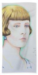Rita Minca 1926.  Beach Sheet