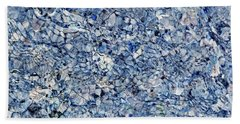 River Reflections Blue Beach Towel