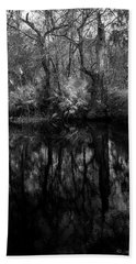 Beach Sheet featuring the photograph River Bank Palmetto by Marvin Spates