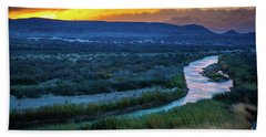 River Bend Beach Towel
