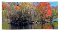 River Color Beach Sheet