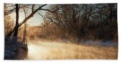 River Fog Beach Sheet