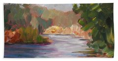 River Light Beach Towel