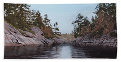River Narrows Beach Towel