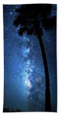 Beach Towel featuring the photograph River Of Stars by Mark Andrew Thomas