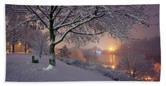 River Road  Beach Towel