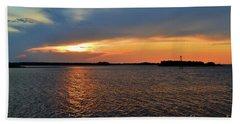 River Road Park Sunset Beach Towel