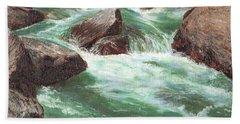 River Rocks Beach Towel