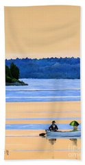 River Romance Beach Towel