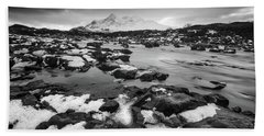 River Sligachan And Black Cuillin, Isle Of Skye Beach Sheet