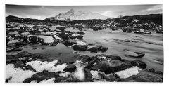 River Sligachan And Black Cuillin, Isle Of Skye Beach Sheet