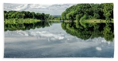 River View Beach Towel by Nicki McManus