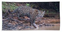 Riverbank Jaguar Beach Towel