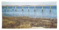 Beach Towel featuring the photograph River's Edge by Colleen Kammerer