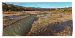 Rivers Of Denali National Park Beach Towel