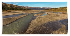 Rivers Of Denali National Park Beach Sheet