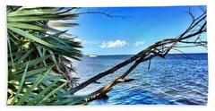 Riverside Beach Towel by Carlos Avila