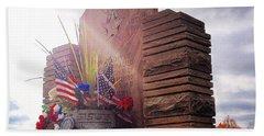 Riverside Cemetery War Memorial Beach Towel
