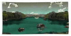Riverside Beach Towel