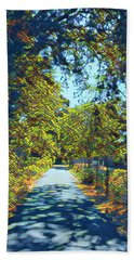 Riverside Park Beach Towel