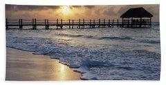 Riviera Sunrise Beach Towel