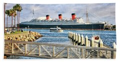 Rms Queen Mary Beach Towel