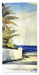 Road In Nassau Beach Towel
