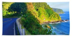 Beach Towel featuring the photograph Road To Hana - Hawaii by Michael Rucker