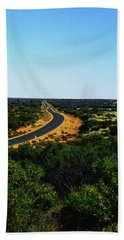 Road To Nowhere Beach Towel