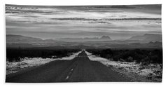 Road To Rio Grand Village Beach Towel
