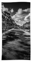 Road To Rossarden Beach Towel