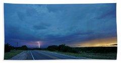 Lightning Over Sonora Beach Sheet