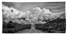 Road To The Sky Beach Towel