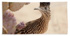 Beach Towel featuring the photograph Roadrunner by Dan McManus
