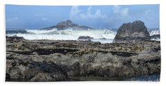 Beach Sheet featuring the photograph Roads End by Peggy Hughes