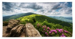 Roan Mountain Radiance Appalachian Trail Nc Tn Mountains Beach Sheet